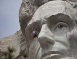 Image for Mount Rushmore Rock Block Monitoring System