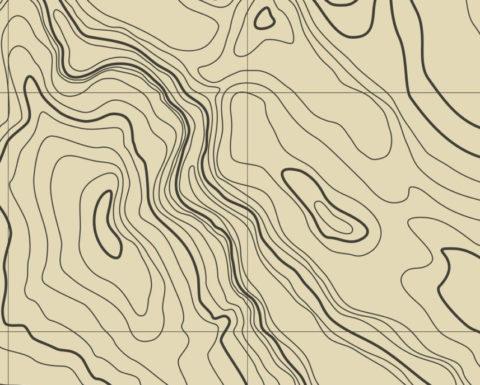 Digital Map of Terrain