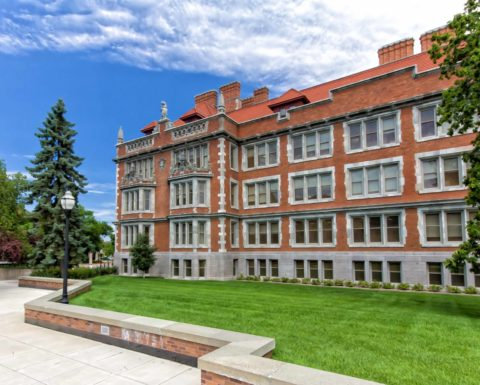 Historic Folwell Hall On The Campus Of The University Of Minnesota