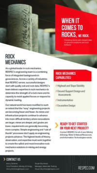 Flyer image for Rock Mechanics