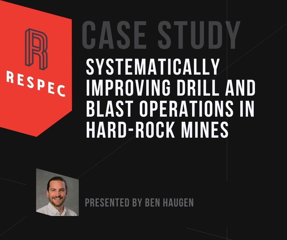 Systematically Improving Drill-and-Blast Operations in Hard-Rock Mines