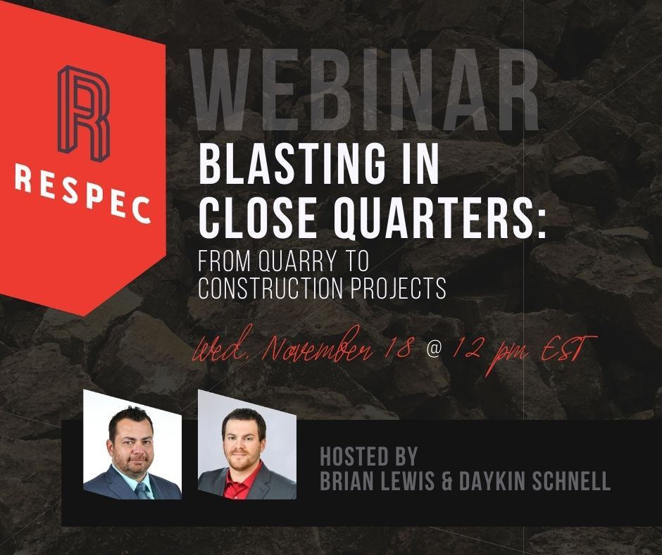 Blasting in Close Quarter Environments: From Quarry to Construction Projects