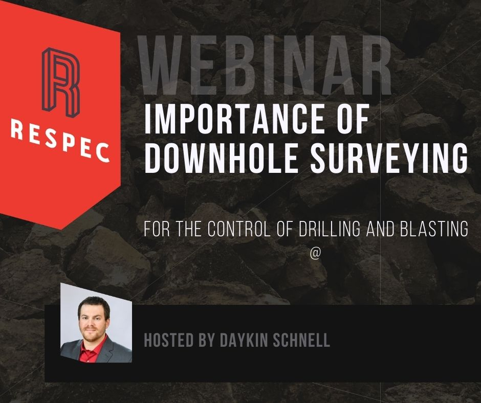 The Importance of the Downhole Survey Information for the Control of Drilling and Blasting