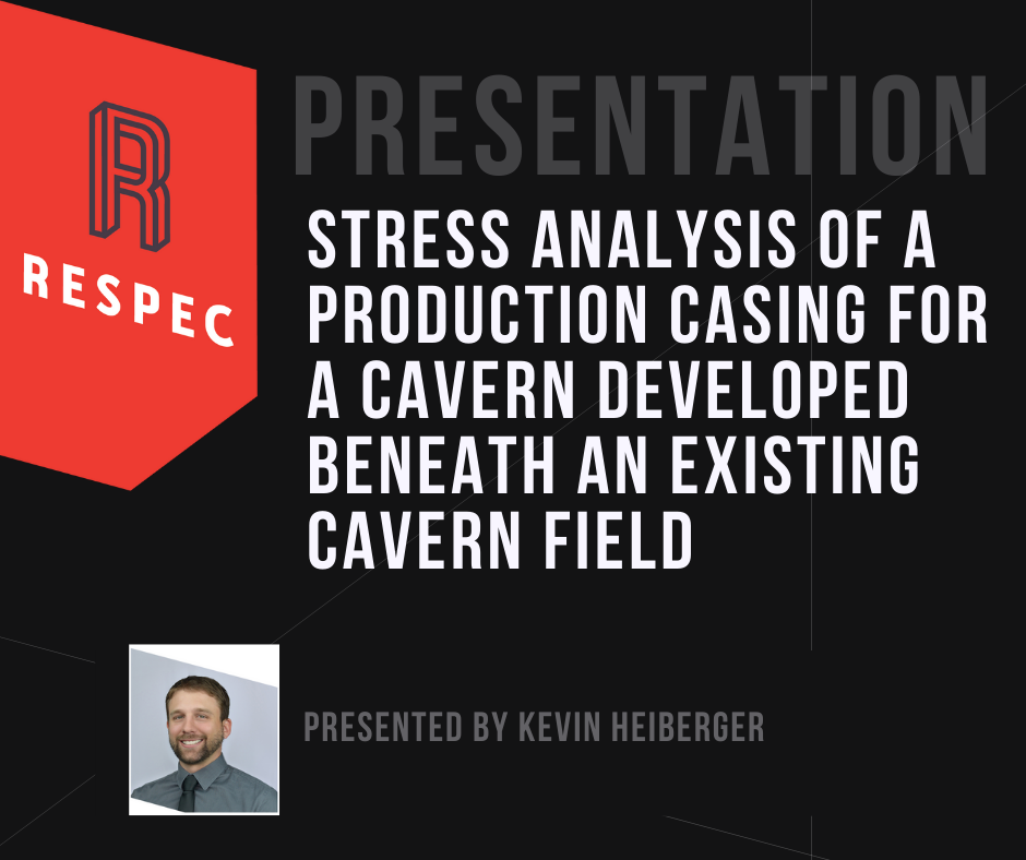 Stress Analysis of a Production Casing for a Cavern Developed Beneath an Existing Cavern Field